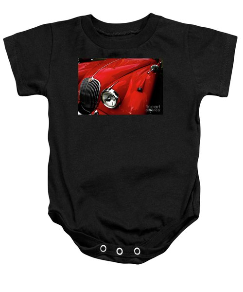 Red Jaguar Baby Onesie