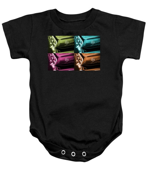 1963 Chevrolet Impala Ss Offset Colors Baby Onesie