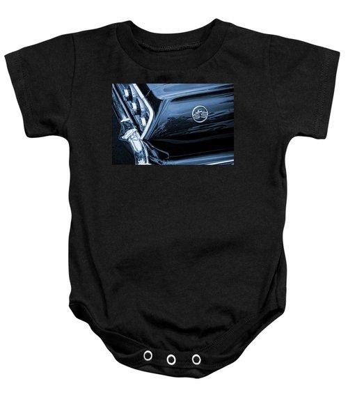 1963 Chevy Impala Blue Baby Onesie