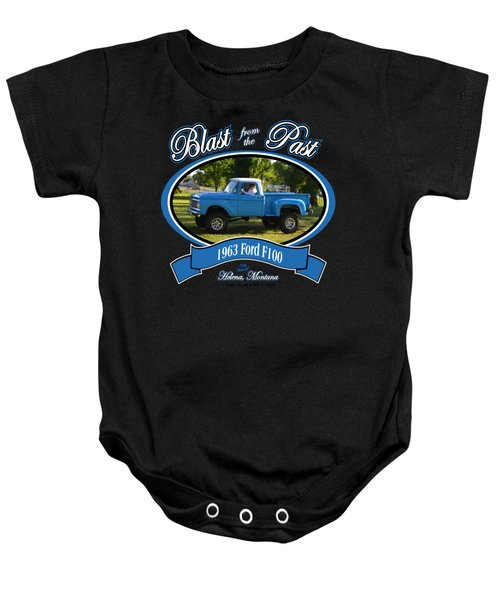 1963 Ford F100 Lamping Baby Onesie