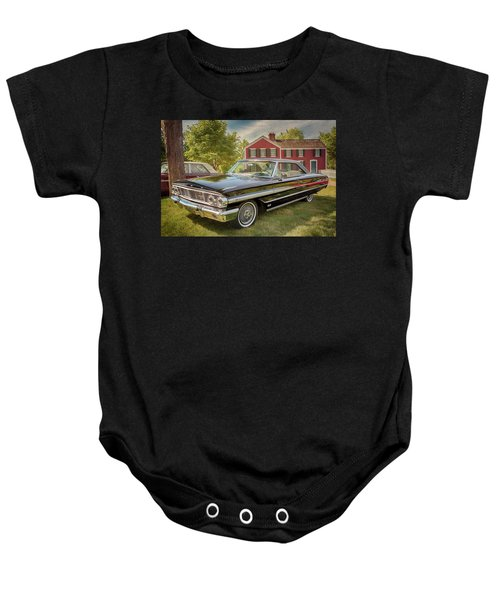 1964 Ford Galaxie 500 Xl Baby Onesie