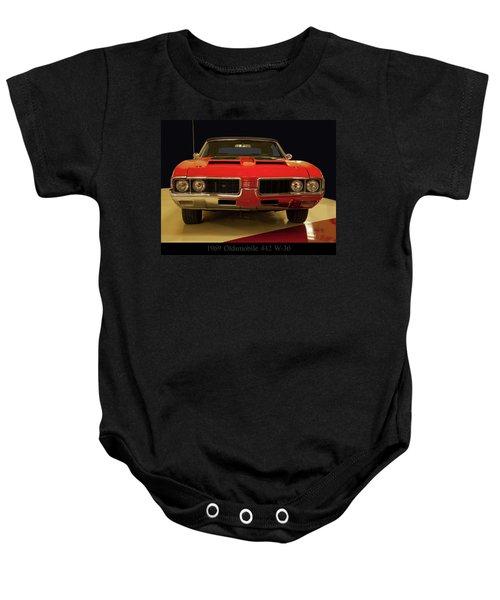 1969 Oldsmobile 442 W-30 Baby Onesie