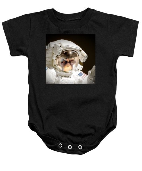 1st Into Space  Baby Onesie by Scott French