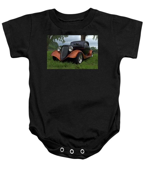 1934 Ford Hot Rod Coupe Baby Onesie
