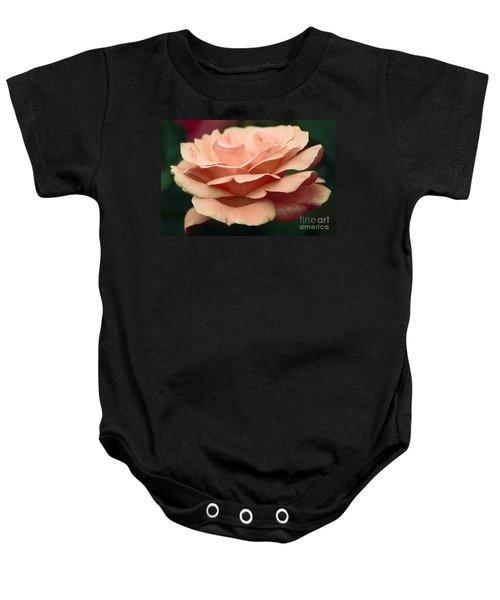 Antique Rose Baby Onesie