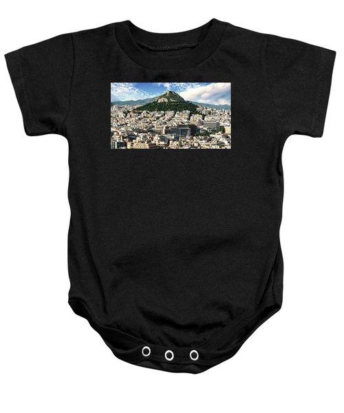 Athens Panorama Baby Onesie