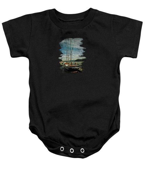 Cape Foulweather Tall Ship Baby Onesie