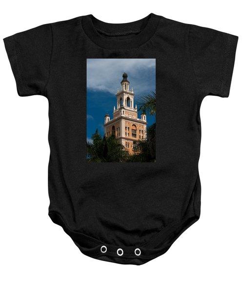 Coral Gables Biltmore Hotel Tower Baby Onesie
