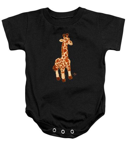 Cuddly Giraffe Baby Onesie
