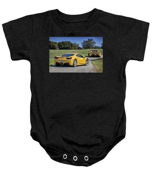 #ferrari #458italia #print Baby Onesie
