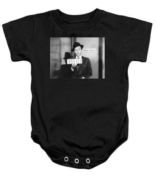 Frank Sinatra Baby Onesie by Underwood Archives
