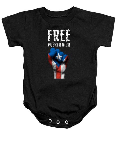 Free Puerto Rico Baby Onesie