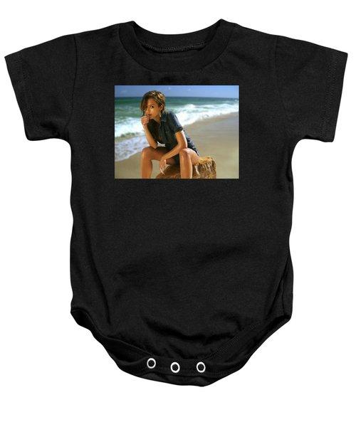 Jessica Alba Baby Onesie