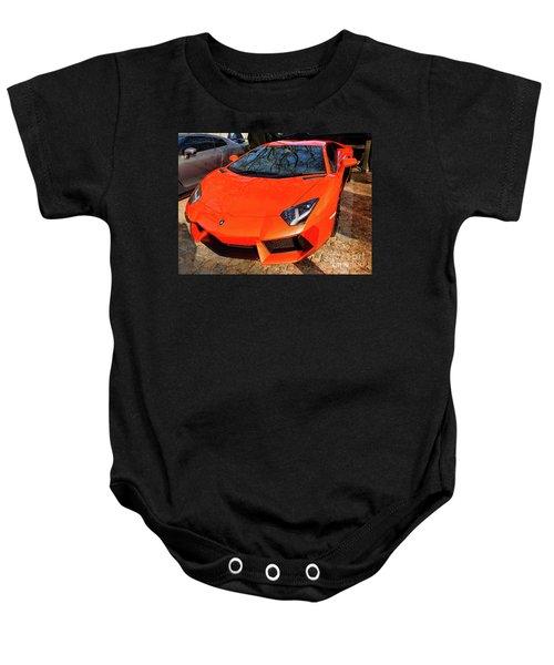 Lamborghini Aventador Baby Onesie