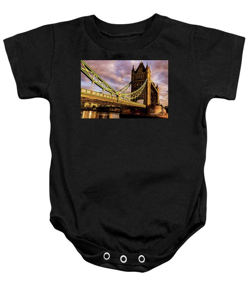 London Tower Bridge. Baby Onesie