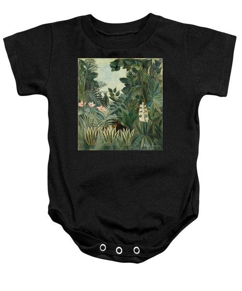 The Equatorial Jungle Baby Onesie