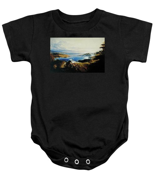 The Plains Of Heaven Baby Onesie