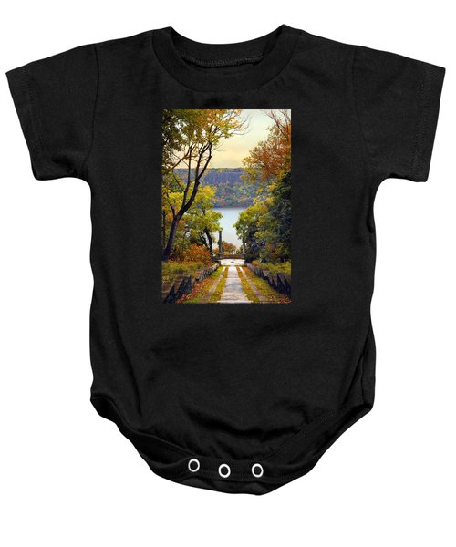 The Vista Steps Baby Onesie
