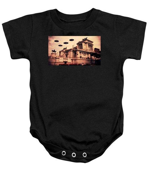 Ufo Rome Baby Onesie