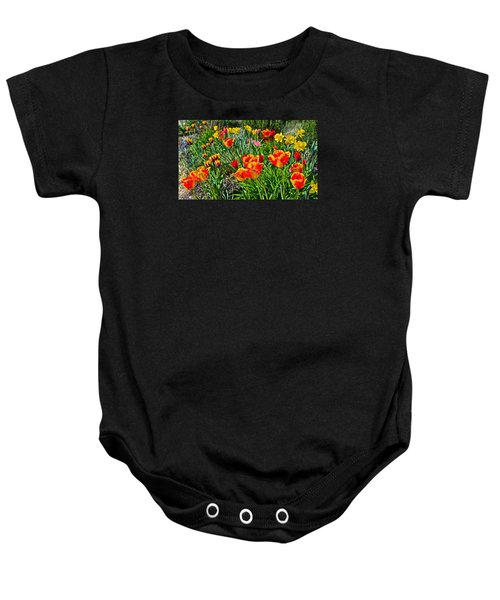 2015 Acewood Tulips 1 Baby Onesie