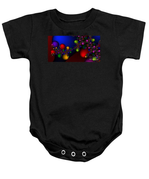 2x1 Abstract 330 Baby Onesie