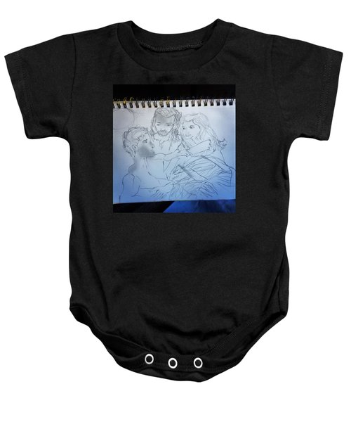 Adam Andeve The Creation Story Baby Onesie