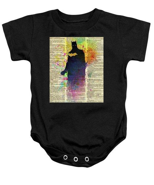 619e09e01 Batman Baby Onesie Batman. Art Popop Arrow Down