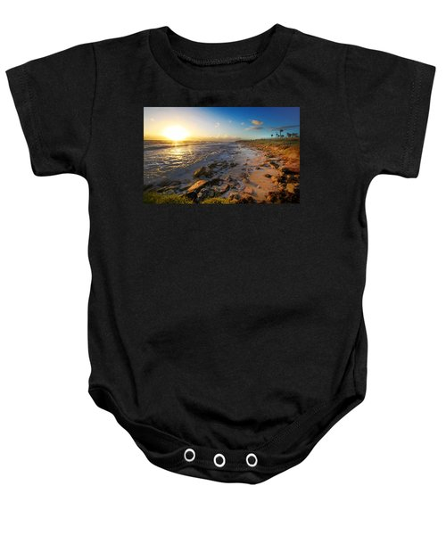3 Degrees Below The Sun Baby Onesie