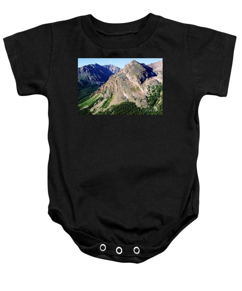 Hiking The Mount Massive Summit Baby Onesie