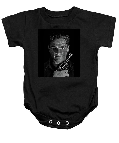James Cagney - A Study Baby Onesie