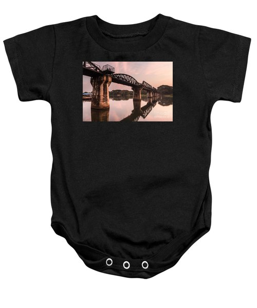 River Kwai Bridge Baby Onesie