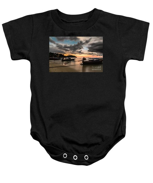 Sunset Over Koh Lipe Baby Onesie