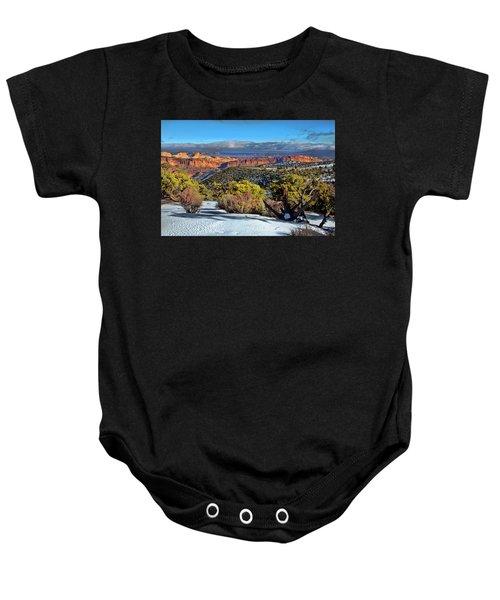 Capitol Reef National Park Baby Onesie