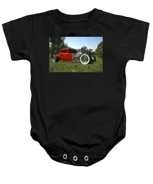 1930 Ford Coupe Hot Rod Baby Onesie