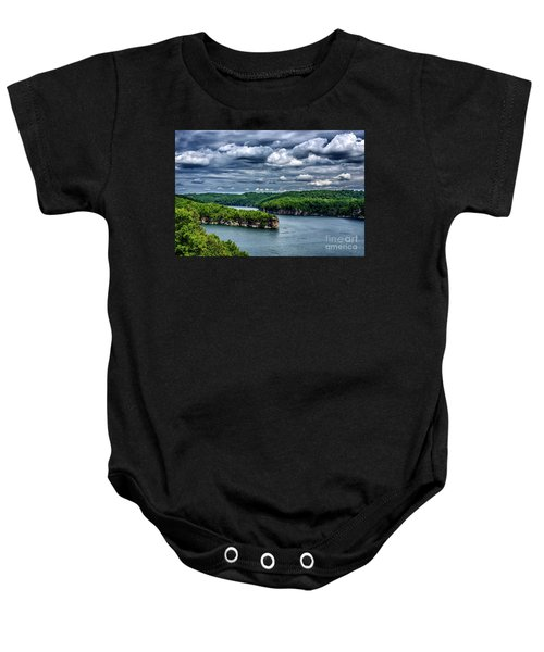 Long Point Summersville Lake Baby Onesie
