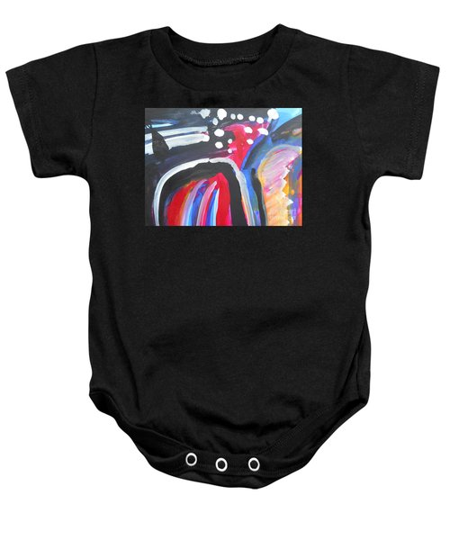 A Colorful Path Baby Onesie