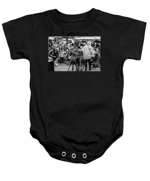 A Dogs Life Baby Onesie