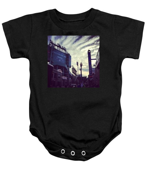 A Fine Night Is Upon Us #beantown Baby Onesie