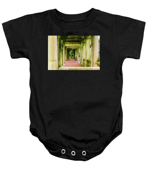 A Garden House Entryway. Baby Onesie