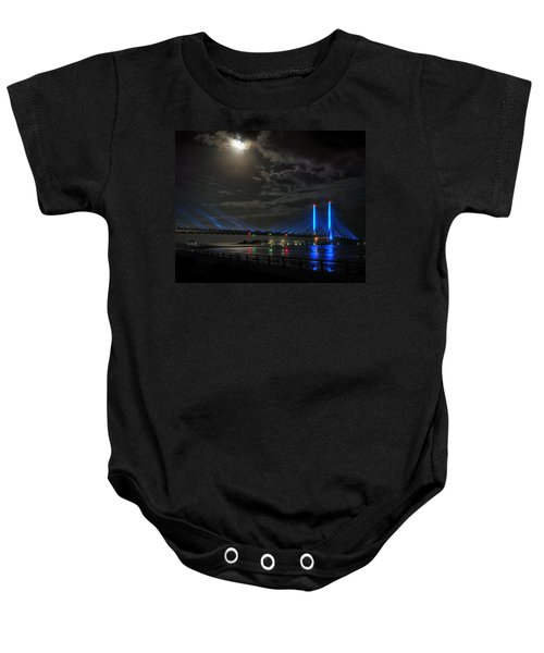 A Light From Above Baby Onesie
