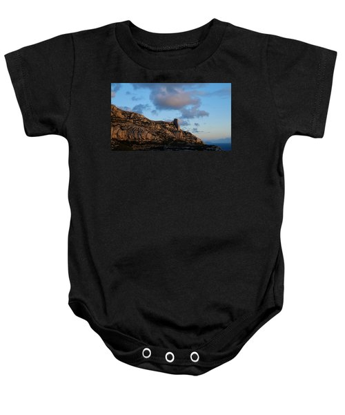 A Mountain With A View Baby Onesie