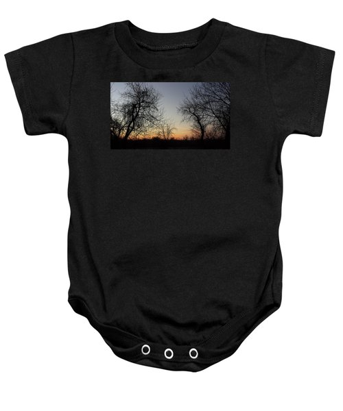 A New Day Dawning Baby Onesie