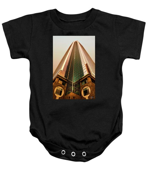 A Really Tall Building Baby Onesie