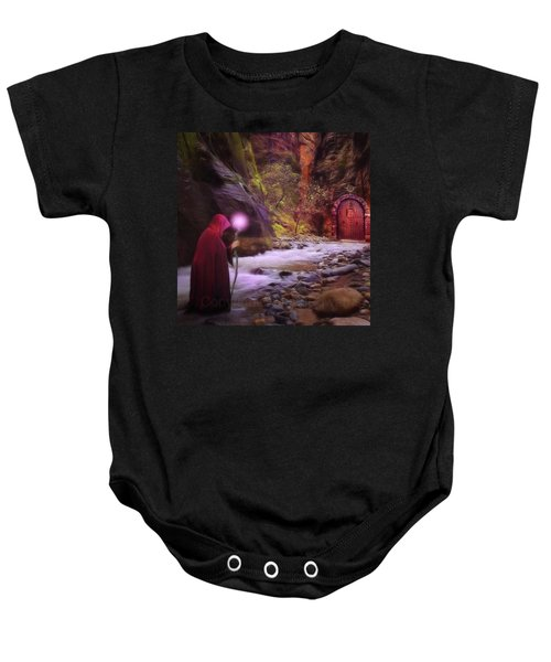 A Touch Of Fantasy - The Road Less Baby Onesie