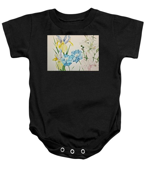 A Variety-posthumously Presented Paintings Of Sachi Spohn  Baby Onesie
