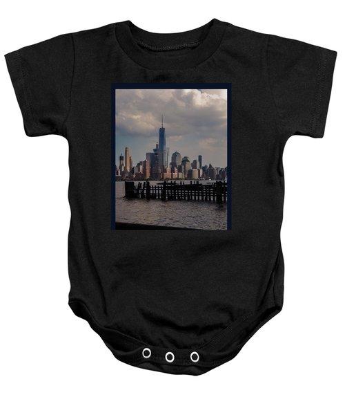 Abandoned Hoboken Pier Baby Onesie