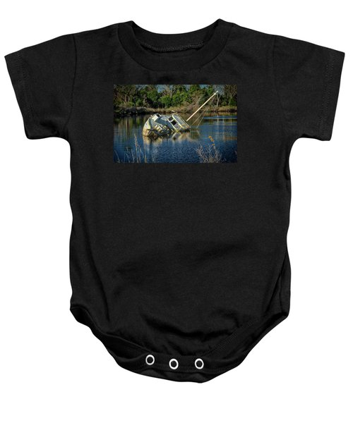 Abandoned Ship Baby Onesie