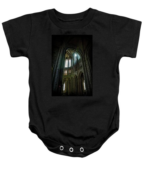 Abbey With Heavenly Light Baby Onesie