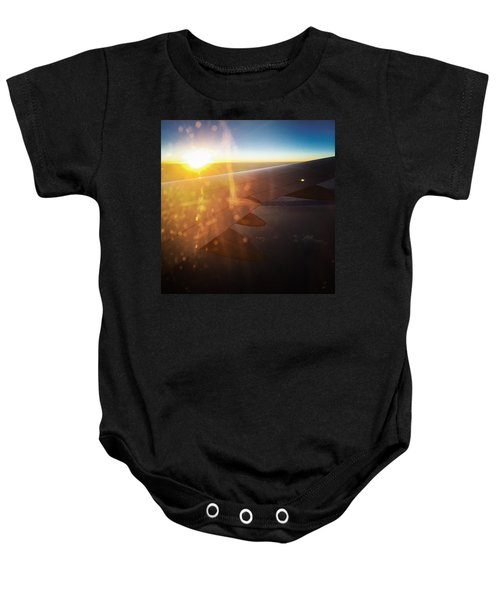 Above The Clouds 03 Warm Sunlight Baby Onesie
