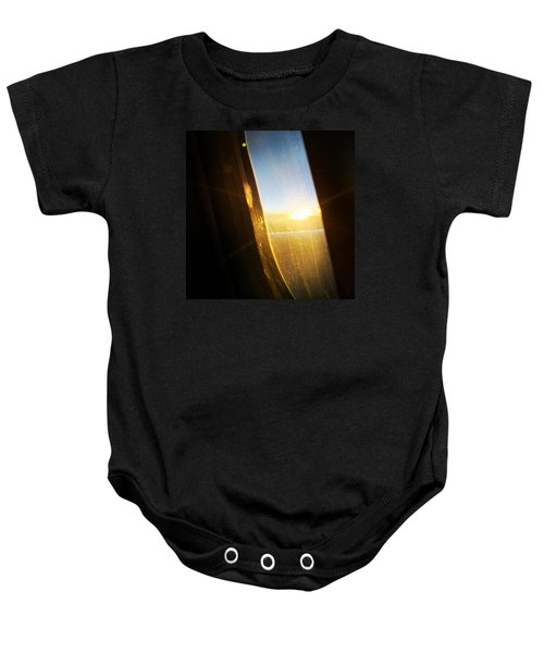 Above The Clouds 05 - Sun In The Window Baby Onesie
